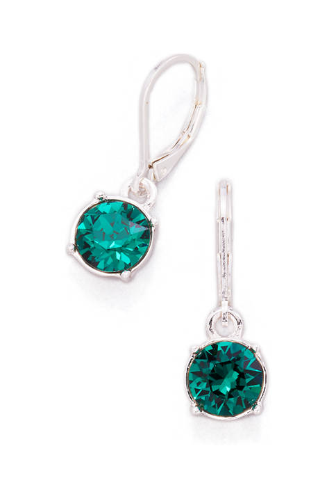 Swarovski Lever Back Drop Earrings