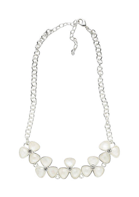 Kim Rogers® 16 Inch Silver Tone Mother of
