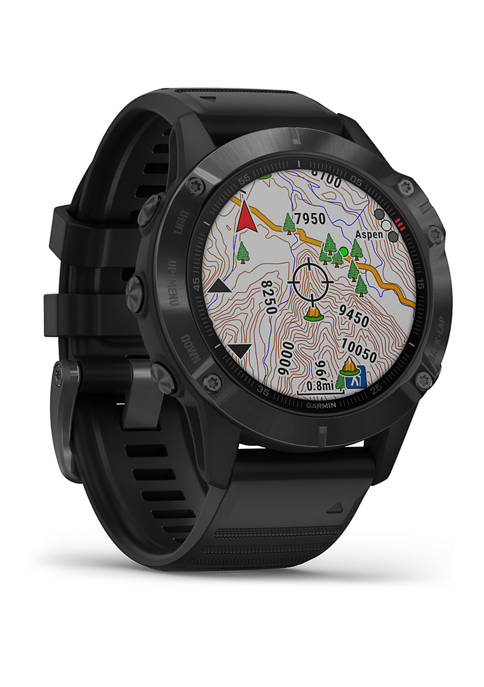 Garmin Fenix 6 Pro Black Watch