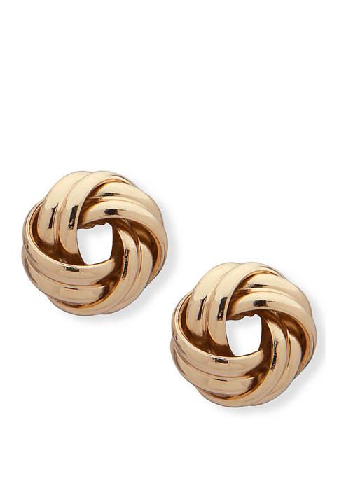 Love Knot Stud Earrings