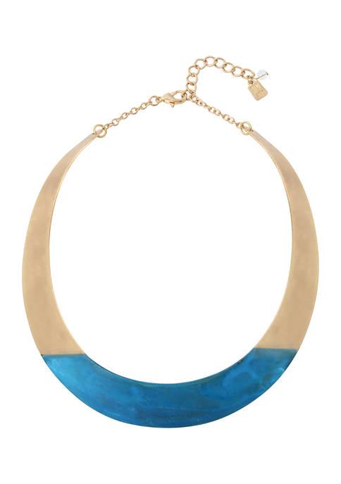 Patina Collar Necklace
