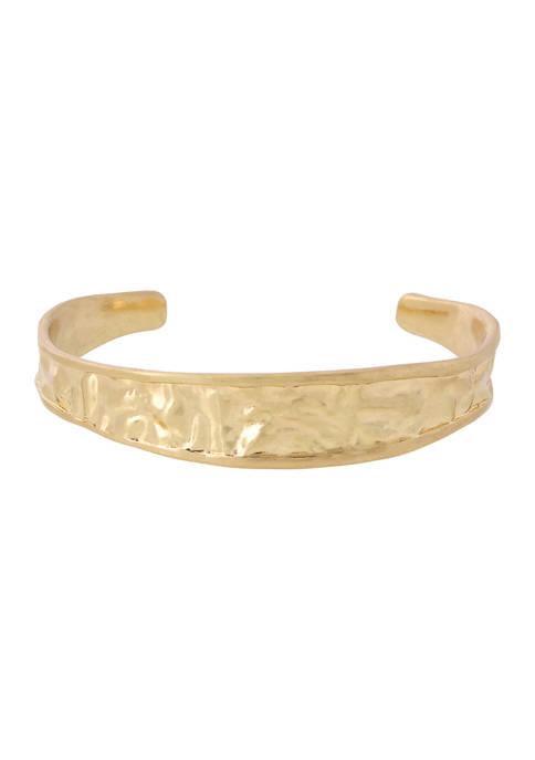 Molten Cuff Bracelet
