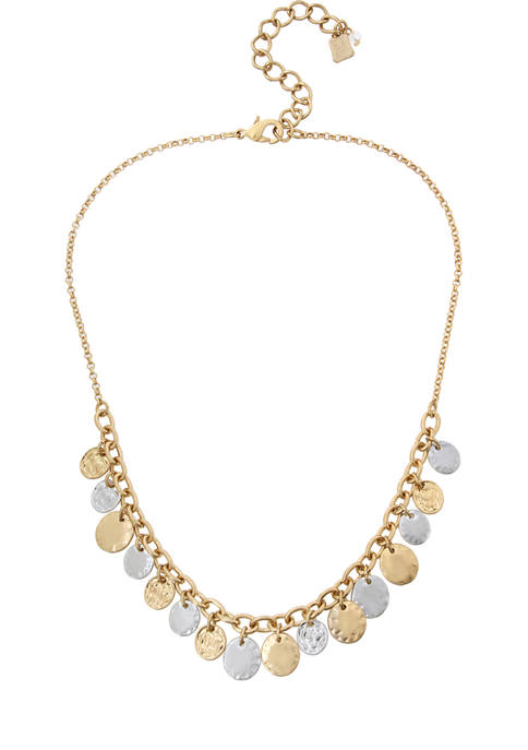 Shaky Coin Frontal Necklace