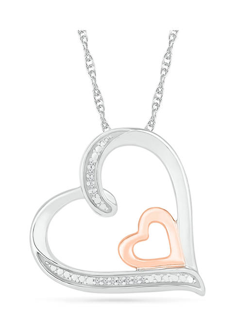 7Continents 1/10 ct. t.w. Diamond 10K Rose Gold