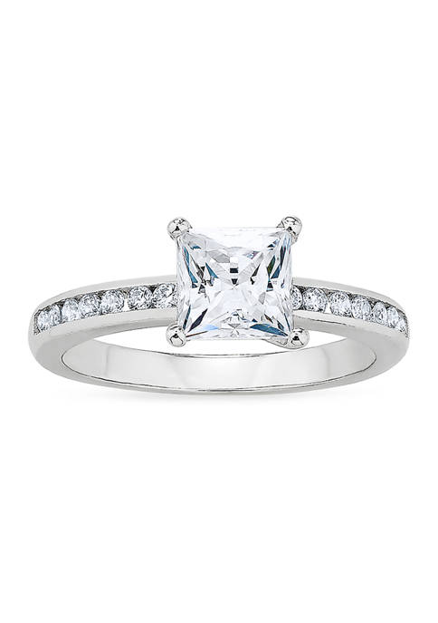 Forever New featuring Swarovski Zirconia Square Channel CZ