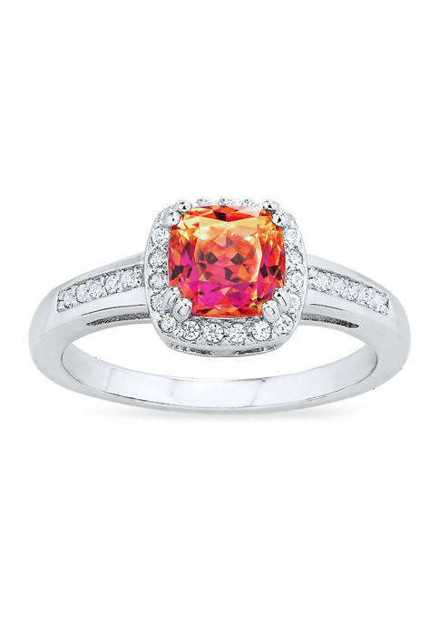 Forever New featuring Swarovski Zirconia Vibrant Red Cubic