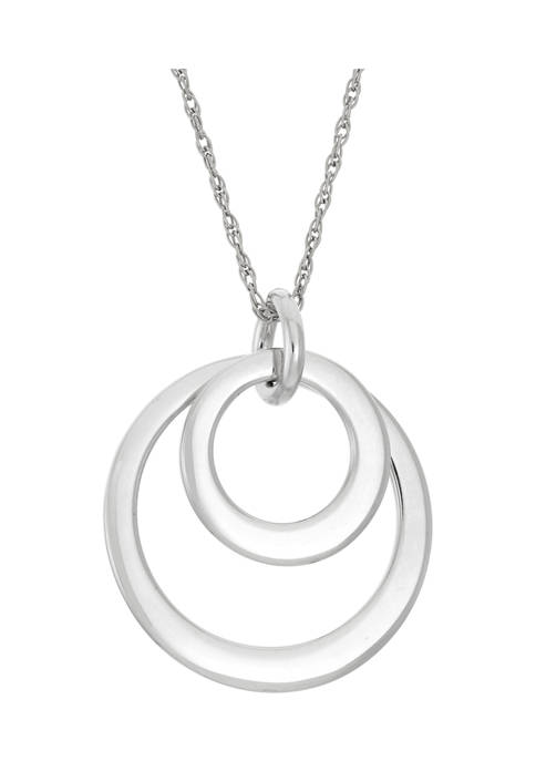 Designs by Helen Andrews 18-Inch Sterling Silver Double