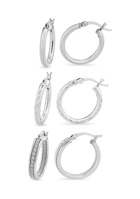 Designs by Helen Andrews Sterling Silver Polished, Diamond