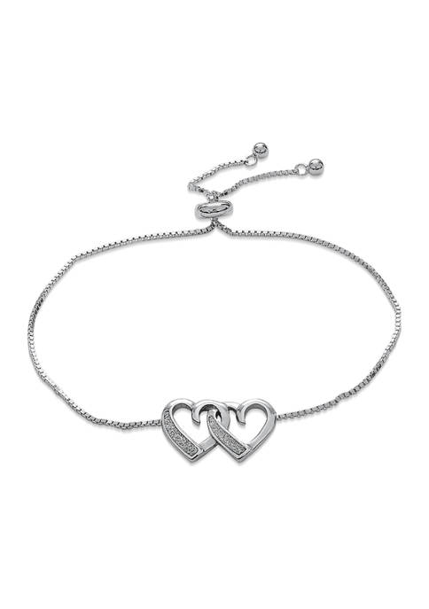 Designs by Helen Andrews Sterling Silver Rhodium Plated
