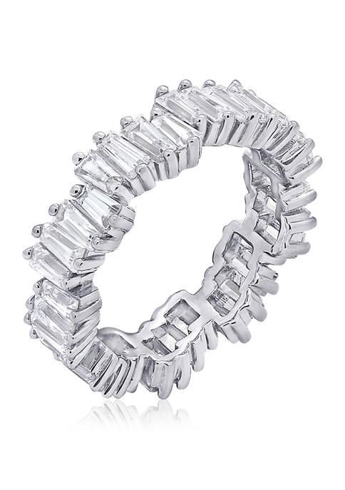 KIERA 3.24 ct. t.w. Cubic Zirconia Platinum Plated