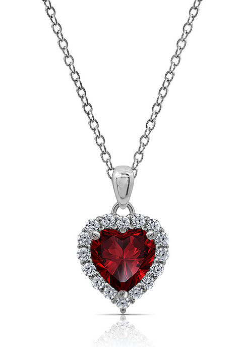J'admire Platinum Plated Sterling Silver 2.3 ct. t.w.