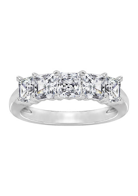 DIAMONBLISS 2 ct. t.w. Princess Cut Cubic Zirconia