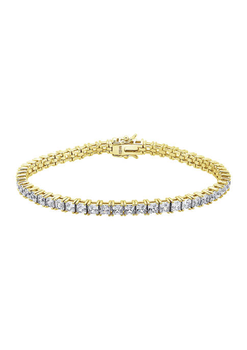 DIAMONBLISS Yellow Gold Plated Sterling Silver 8.5 ct.