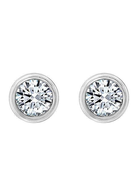 DIAMONBLISS Sterling Silver 2.5 ct. t.w. Round Cut