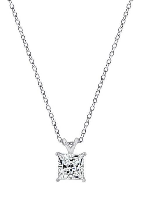 DIAMONBLISS 1 ct. t.w. Princess Cut Cubic Zirconia