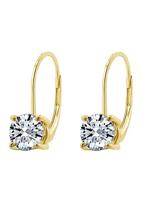 J'admire Yellow Gold Plated Sterling Silver 1 ct.