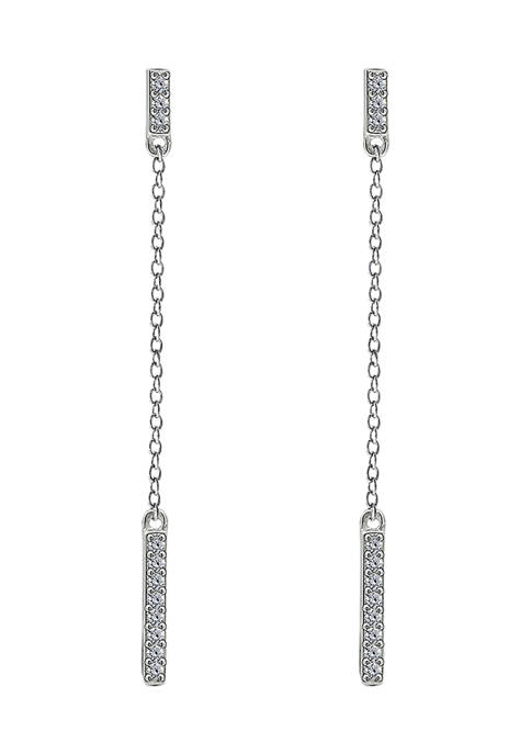 J'admire Platinum Plated Sterling Silver 1/5 ct. t.w.