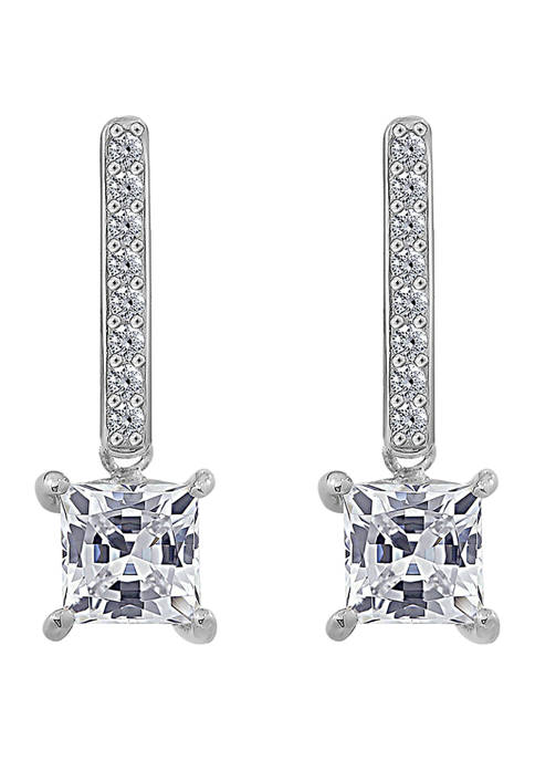 J'admire Platinum Plated Sterling Silver 1.5 ct. t.w.