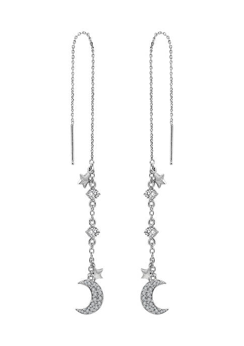 J'admire Platinum Plated Sterling Silver 3/4 ct. t.w.