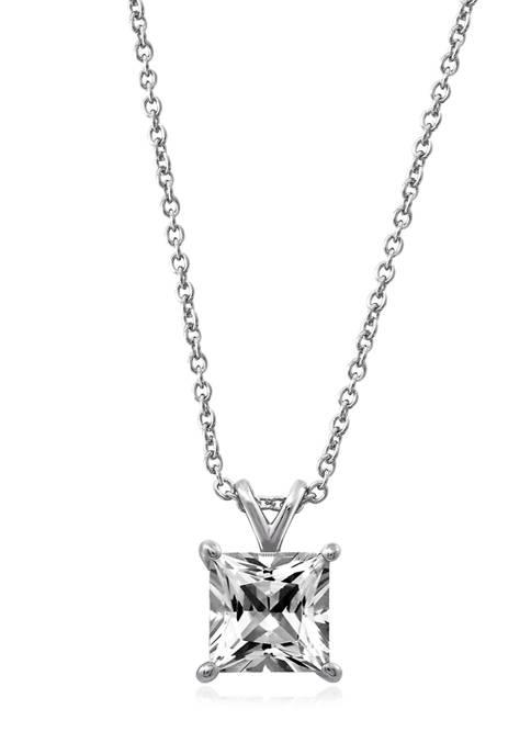 J'admire 3 ct. t.w. Swarovski® Zirconia Princess-Cut
