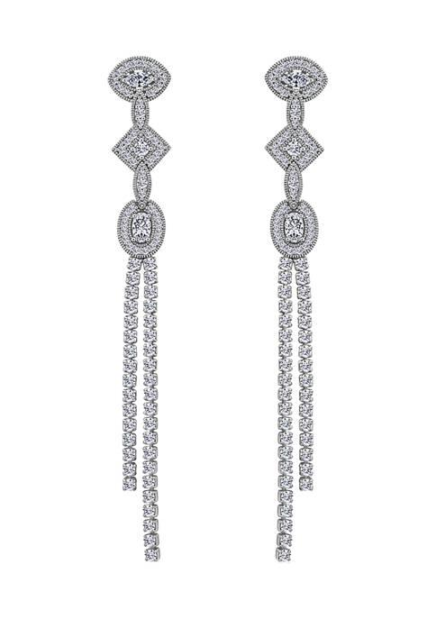 KIERA Platinum Plated Sterling Silver 1.67 ct. t.w.
