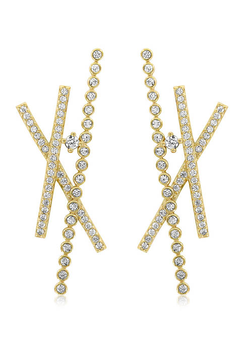 KIERA Yellow Gold Plated Sterling Silver 1.46 ct.