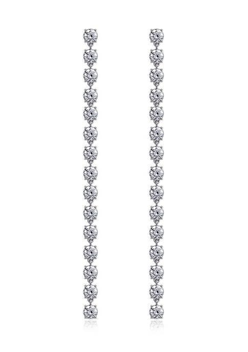 KIERA Platinum Plated Sterling Silver 7.91 ct. t.w.