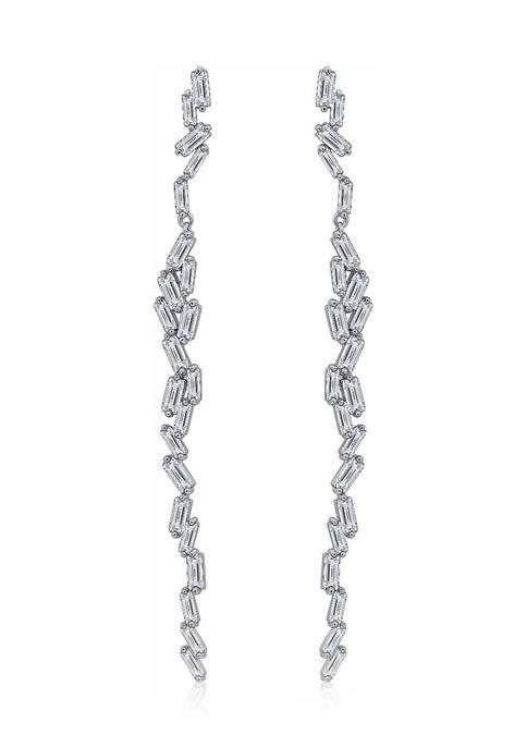 KIERA Platinum Plated Sterling Silver 4.32 ct. t.w.