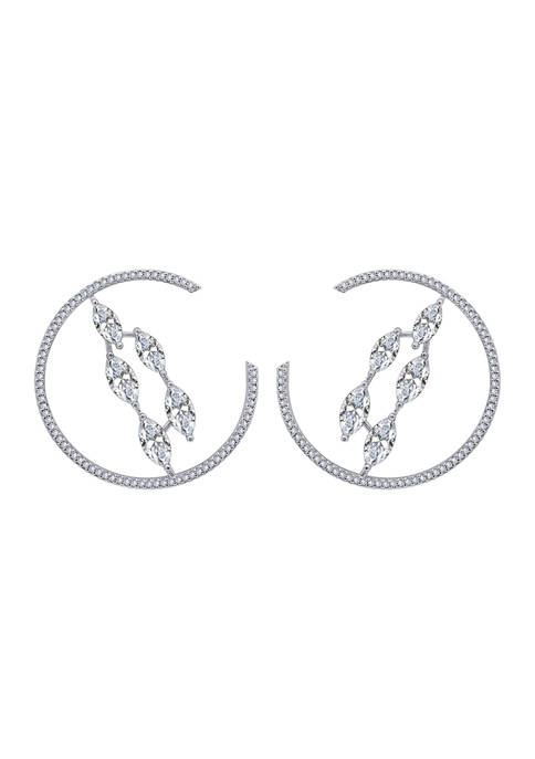 KIERA Platinum Plated Sterling Silver 5.27 ct. t.w.