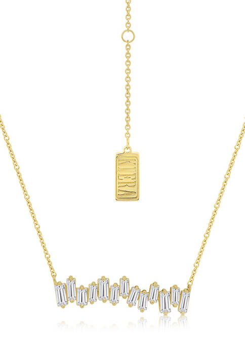 KIERA Yellow Gold Plated Sterling Silver 1.9 ct..