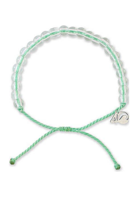 4Ocean Loggerhead Sea Turtle Bracelet- Sea Foam Green