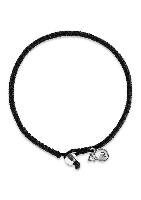 4Ocean Shark Beaded Bracelet- Black