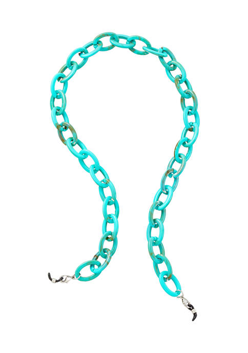 Belk Turquoise Link Mask Chain