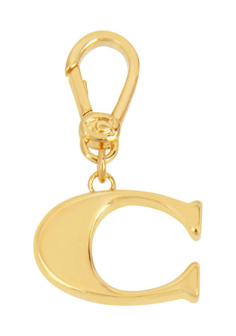 Collectible C Initial Charm