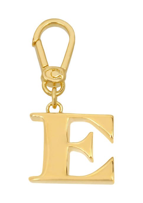Collectible E Initial Charm