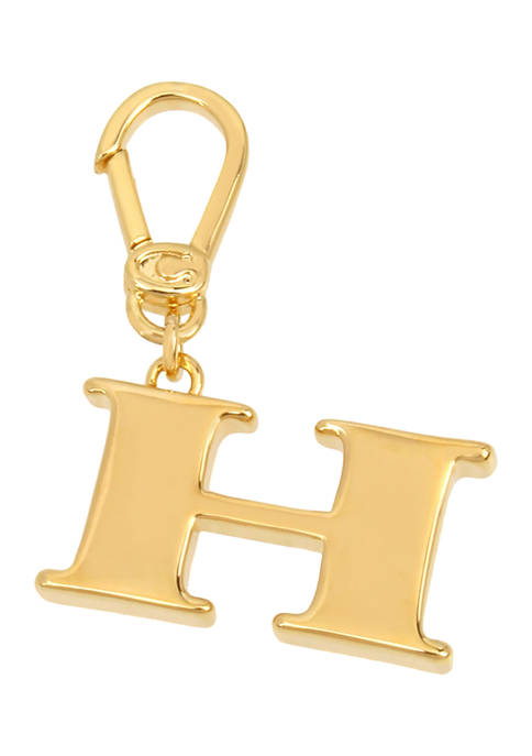 COACH Collectible H Initial Charm