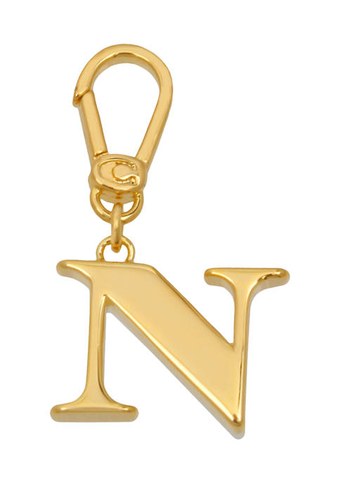 Collectible N Initial Charm