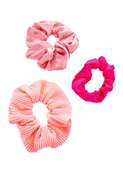 Pink Gradient Scrunchie Set