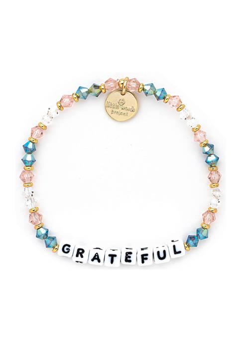 Little Words Project Grateful Beaded Bracelet