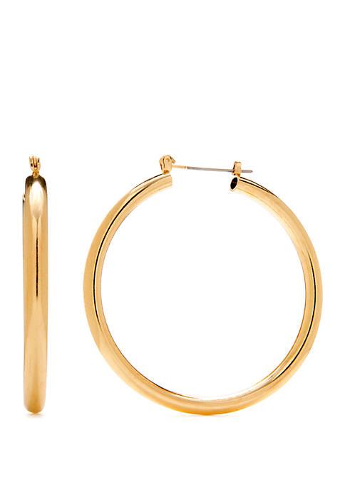 New Directions® Tube Hoop Earrings