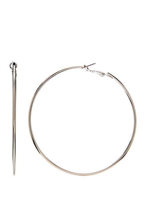 Oversized Hoop Earrings