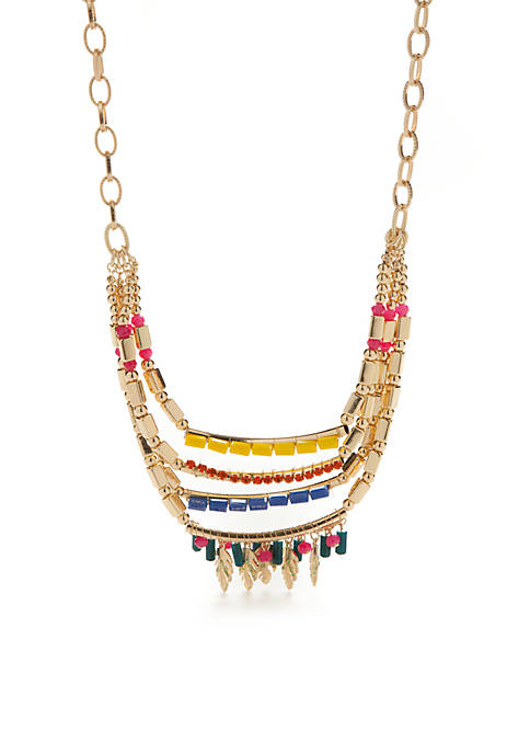New Directions® Gold-Tone Taste Of The Tropics Chain