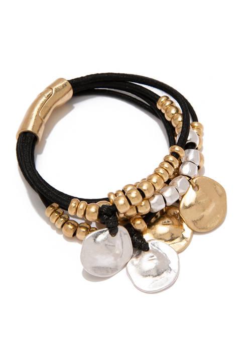 Belk 2 Tone Shaky Magnetic Bracelet