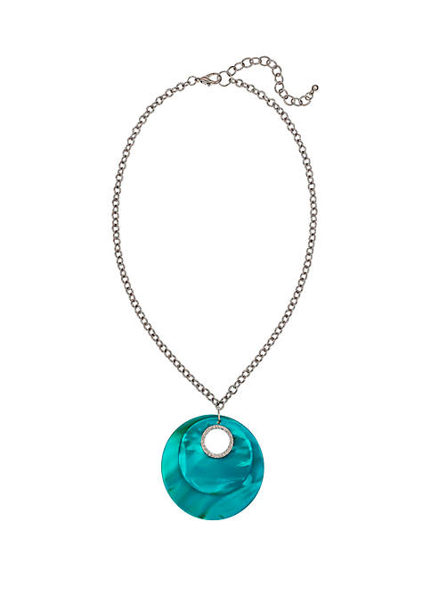 New Directions® Shell Pendant Necklace