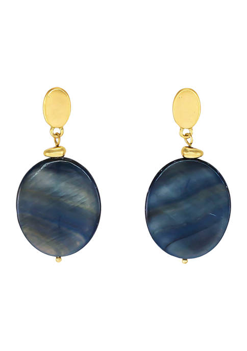 New Directions® Post Stone Drop Earrings