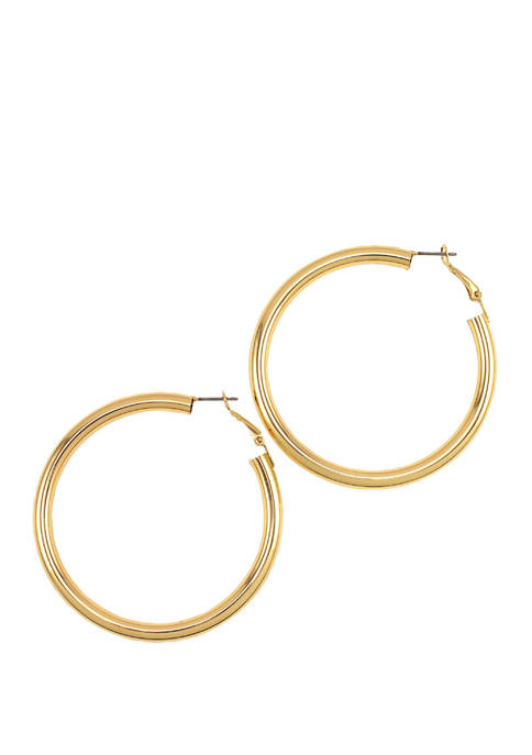 Large Tubular Clickit Earrings