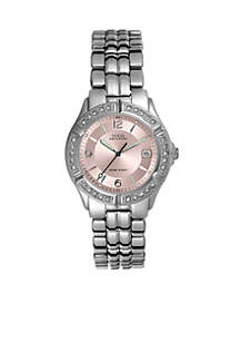 Women's Crystal Mid-Size Sports Watch