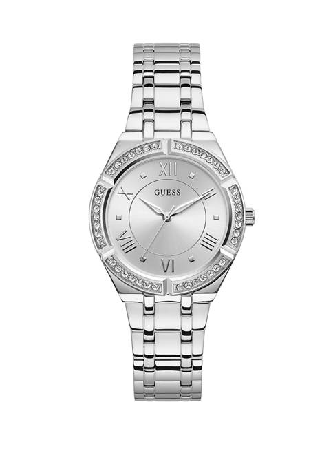 Cosmo Silver Analog Watch