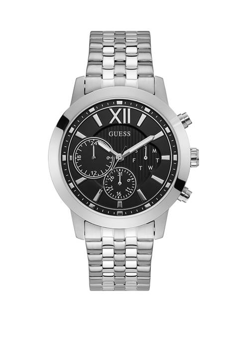 Mens Black Dial Analog Watch