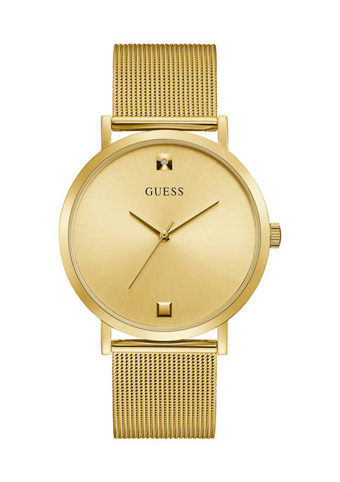 GUESS® 50 Meter Water Resistant Gold Tone Case